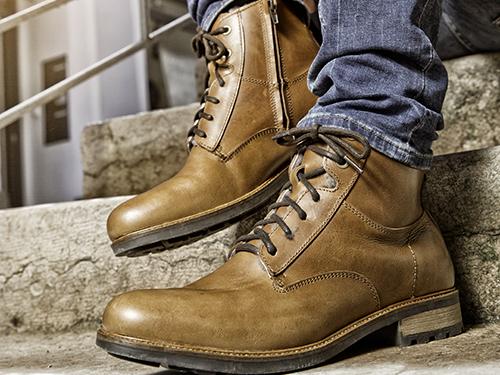 Wol gevoerde schoenen