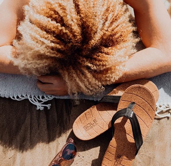 Heren slippers tegen hielspoor