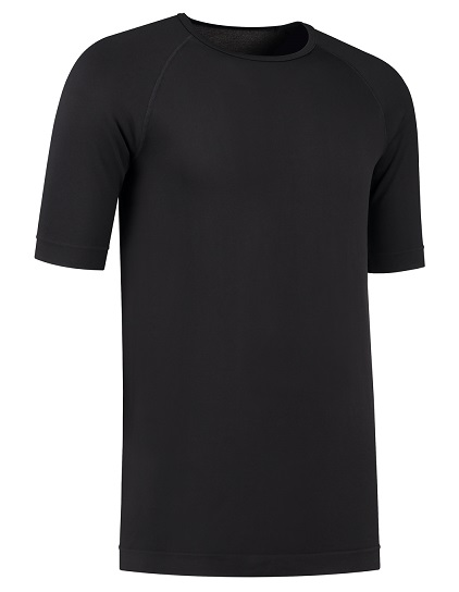 Unisex shirt met zilver zwart