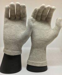 Zilverhandschoenen met lange mouwen (manchet)