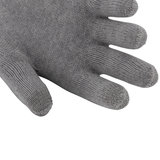 Detail van vingers handschoenen