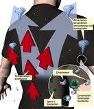 Shirt tegen kou, huidaandoeningen en zweetlucht