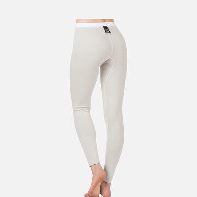 Best4Body zilvergaren lange broek wit