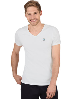 Best4Body zilvergaren t-shirt wit