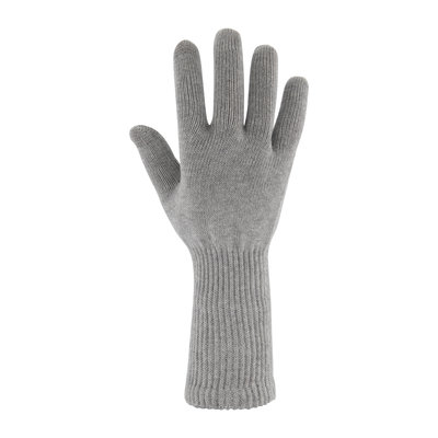 Skafit katoenen zilverhandschoenen met lange manchet (per paar)