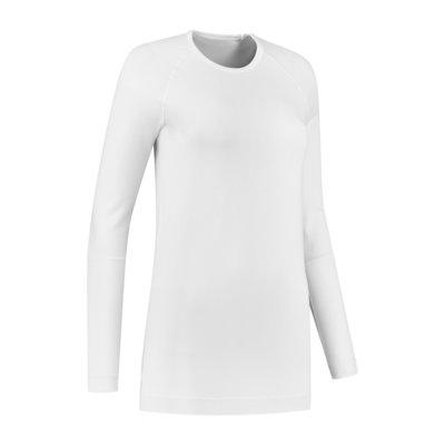 Skafit Thermoshirt met lange mouwen (Wit, Unisex)