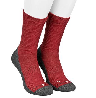 Best4feet Outdoor sokken Bordeaux rood