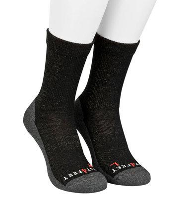 Best4feet Outdoor sokken zwart