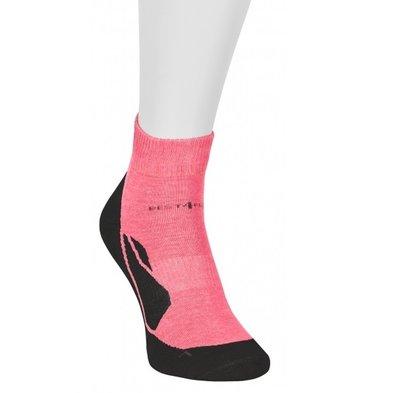 Best4Feet korte sportsok met 12% Zilvergaren (Neon Pink)