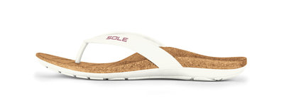 Sole Beach dames slippers Blanca