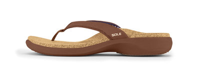 Sole Casual dames slippers Bark