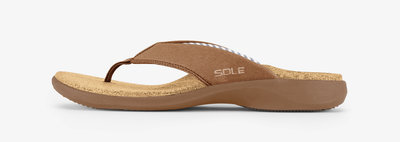 Sole Casual heren slippers Bark