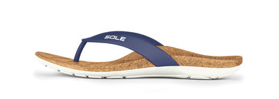 Sole Beach dames slippers Nautical