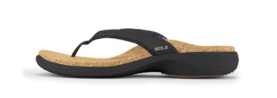 Sole Casual dames slippers Coal