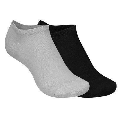 Best4Feet Zilverfooties sneakers sokken (per 2 paar)