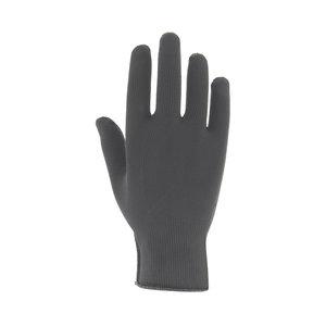 Zilverhandschoen grijs voorkant
