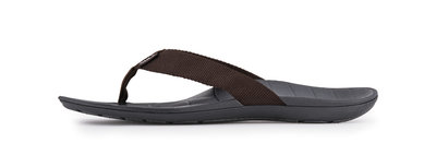 SOLE heren slippers Balboa Donker Bruin